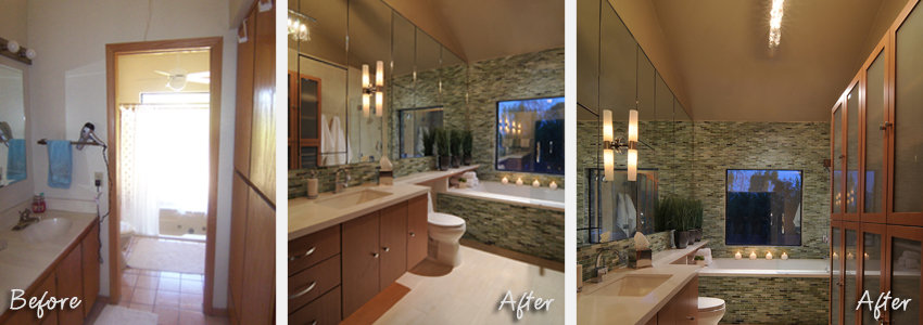 Collins bath Before & After