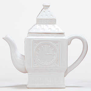 London Olympics Beg Ben teapot