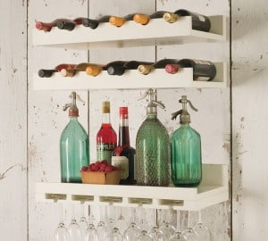 Wall bar for small spaces