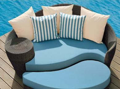 Tired of the same old, same old patio furniture?