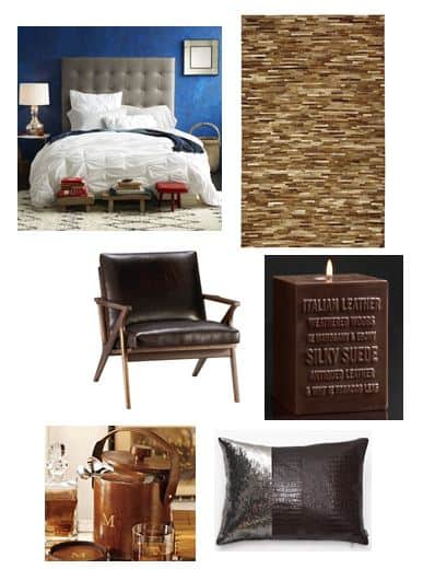 Luxe Leather Spring Home Trend 2013