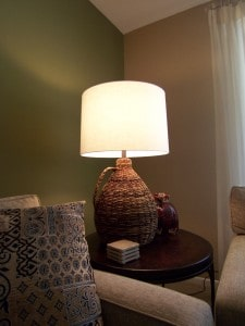 Lamp after with proper shade