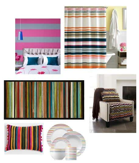 Fashion Meets Design Series #3: Bold Stripes