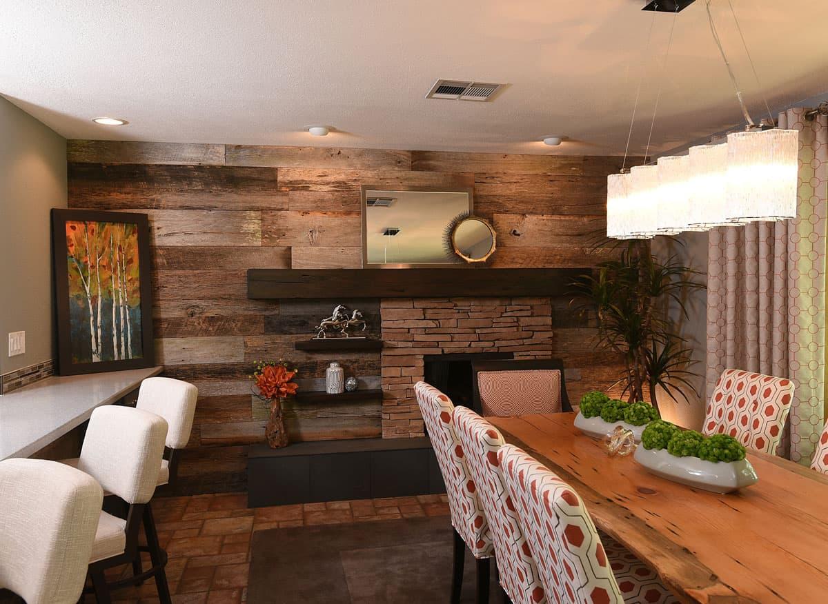 Updated Rustic Interior Design Decorator Home Remodel